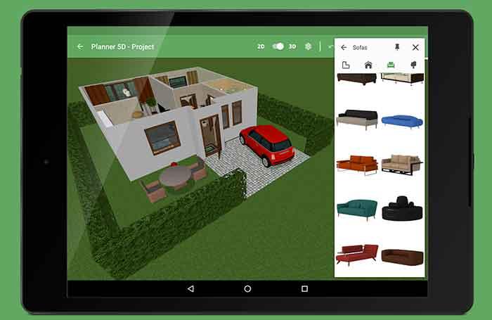 Planner 5d casa interior design home design 3d my for Planner bagno 3d